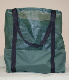 Canvas/Mesh Tote Bag